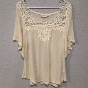 Beautiful cream color top from Anthropology